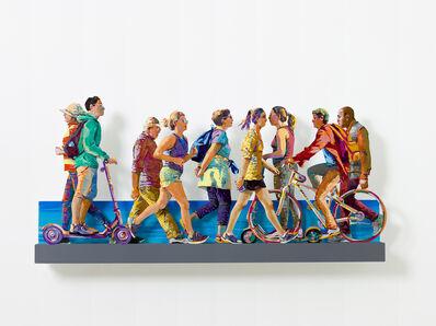 David Gerstein, 'TEL AVIV BEACH PROMENADE特拉維夫海濱(Right)', 2019