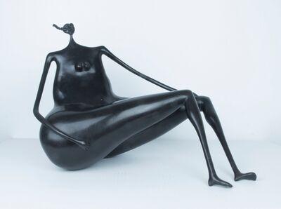 Abigail Varela, 'Mujer sentada de lado'