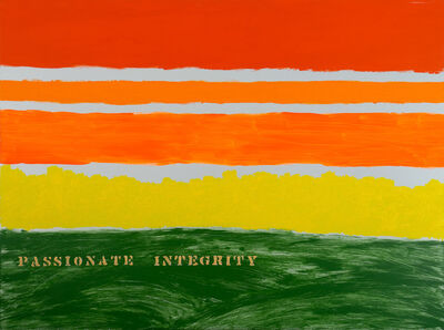 Edwin Schlossberg, 'Passionate Integrity', 2018