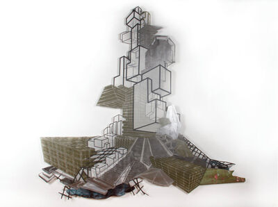 Nicola López, 'Babel Revisited, History repeats itself (Little Tower 1)', 2014
