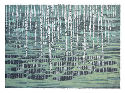 Stéphane Erouane Dumas, 'Reflets Celadon', 2018