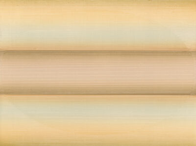 Edward Clark (1926-2019), 'Untitled (Peach/Pale) ', 1979