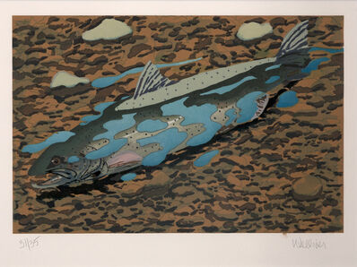 Neil G. Welliver, 'Redding Salmon (Northern Sea Trout)', 1997-1998