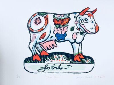 Andrew Mockett, 'China Cow', 2018