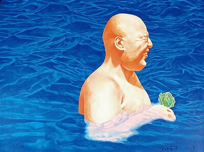 Fang Lijun 方力钧, 'Swimming Series', 2006