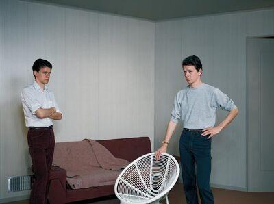 Jeff Wall, 'Double Self-Portrait', 1979