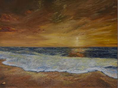 Lusie Schellenberg, 'Golden sunset ', 2020