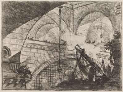 Giovanni Battista Piranesi, 'The Arch with a Shell Ornament', published 1750/1758