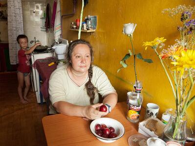 Adad Hannah, 'Mother Holding a Plum', 2011