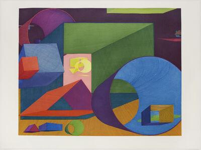 Al Held, 'Liv', 1992