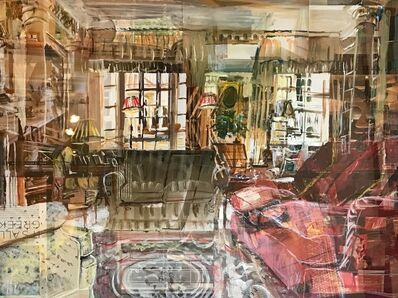 Alison Pullen, 'London Interior (it's all greek)', 2018