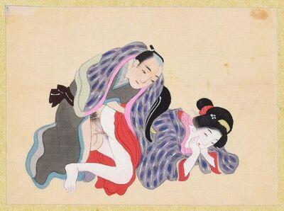 Unknown, 'Intimacy', second half of XIX century