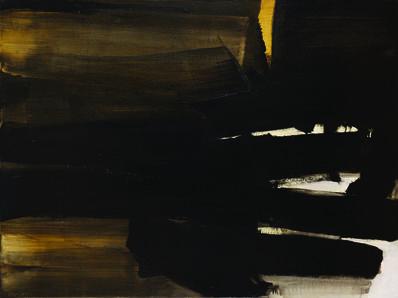Pierre Soulages, 'Peinture 97 x 130 cm, 16 novembre 1963', 1963