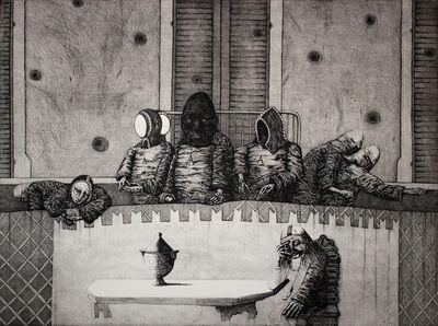 Sergio Vacchi, 'I Coccodrilli', ca. 1980