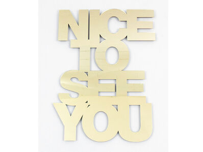 Jade Rude, 'Nice to See You', 2018