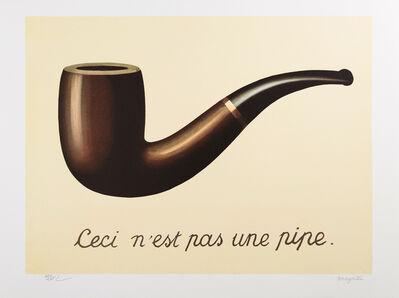 René Magritte, 'La Trahison des images (The Treachery of Images)', 2010