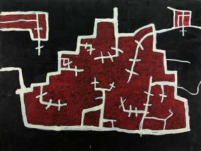 Chuck Webster, 'Untitled (black and red)', 2012