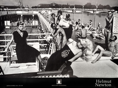Helmut Newton, 'Jean Patou & Guy Laroche, French Vogue, Paris 1978', 1994