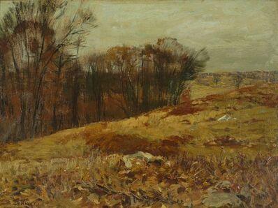 Franklin De Haven, 'Autumn Hillside', ca. 1910