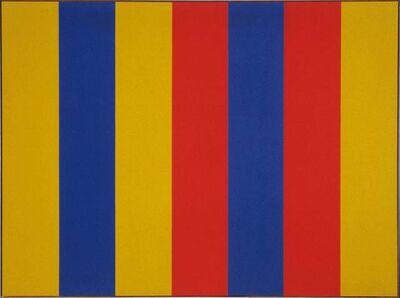 Guido Molinari, 'Espace bleu-ocre (G.M.-T-1964-01)', 1964