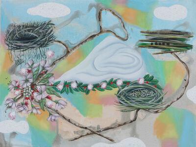 Hartmut Neumann, 'Drei Nester', 2008