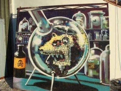 Banksy, 'Lab Rat', 2000