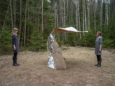Elina Brotherus, 'Paper Piece', 2017