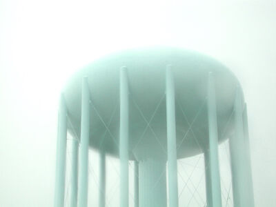 Suzette Bross, 'Commute # 21 (water tower)', 2003