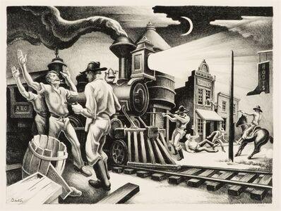 Thomas Hart Benton, 'Jesse James', 1936