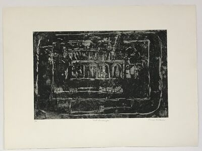 Louise Nevelson, 'East Landscape (only avail. with Portfolio of 23 Prints)', 1965-66