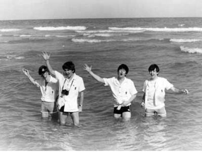 Harry Benson, 'Beatles, Miami Beach', 1964