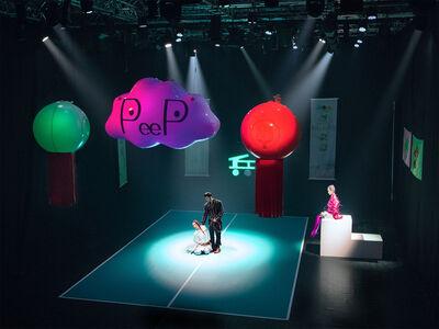 Funa Ye, 'Peep ping pong theater', 2018
