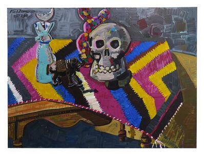 Frank Romero, 'Nature More with Dingo y Calavera', 2020