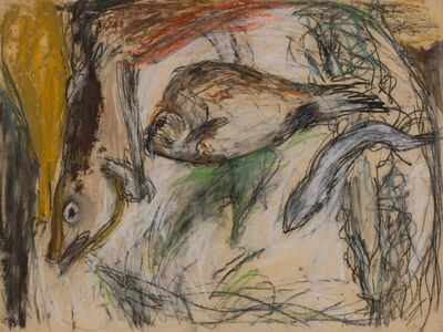 Larry Rivers, 'Untitled Fish', 1950