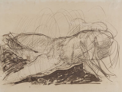 Marino Marini, 'Nudo maschile', 1941