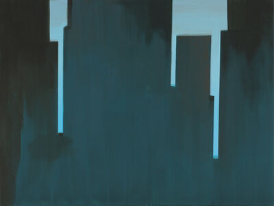Wanda Koop, 'In Absentia (Peacock Blue - Jade Green)', 2016