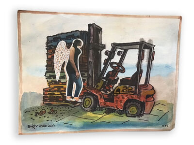 Konstantin Bokov, 'Angel on the Truck ', 2006
