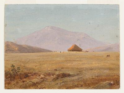 Frederic Edwin Church, 'Ecuador, mountain plateau with hut', 1890