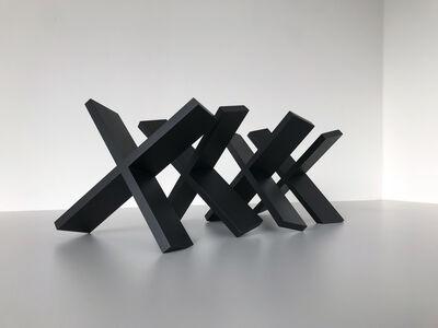 Thomas Lendvai, 'Untitled (Black X's)', 2018