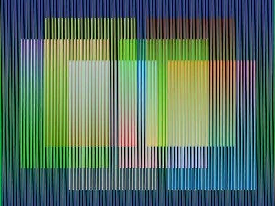 Carlos Cruz-Diez, 'Color Aditivo Panam 5 - Ed. 8', 2010