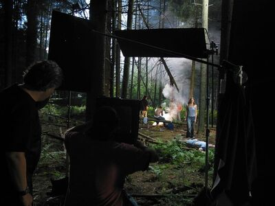 Gregory Crewdson, 'Production Still (Forest Gathering #3)', 2003