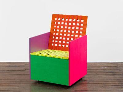 Mary Heilmann, 'Webbed Rietveld', 2015