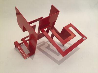 Carlos Evangelista, 'Red sculpture, 4 modules', ca. 2010