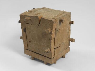 David Nash, 'Cracking Box', 1981