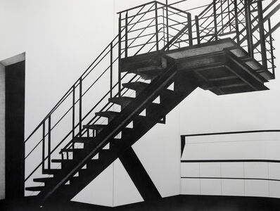 Brian Hubble, 'The Staircase at Metro Pictures during the Robert Longo Exhibition II', 2013