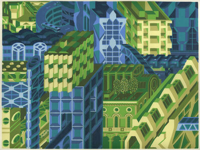 Michael DalCerro, 'Ways into the City', 2020