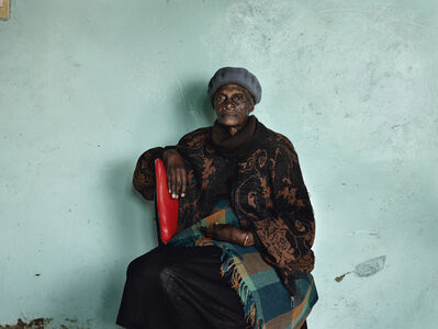 """Pieter Hugo, 'Meriam 'Mary' Tlali, who spent her entire adult life working as a maid for my grandmother, Kroonstad, from the series """"Kin""""', 2011"""