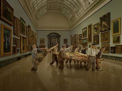 Julia Fullerton-Batten, 'Flooding of Tate Britain',  2018