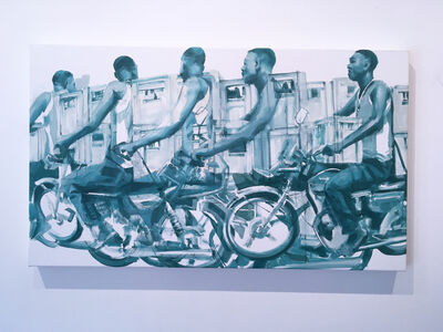 RU8ICON1, 'People On The Move 3', 2019
