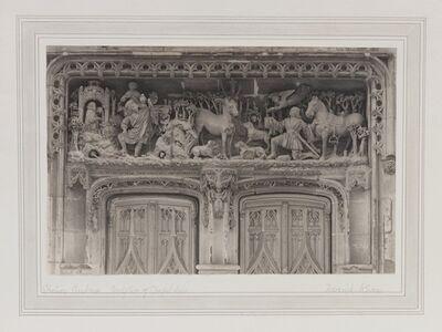 Frederick Henry Evans, 'Chateau Amboise, Sculpture of Chapel Door [France]', ca. 1905